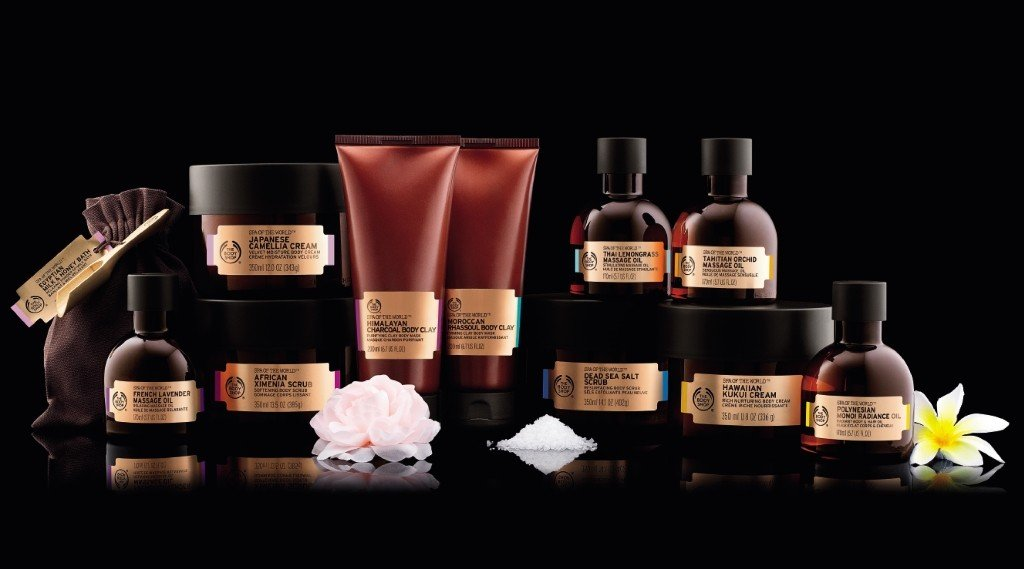 Spa of The World The Body Shop