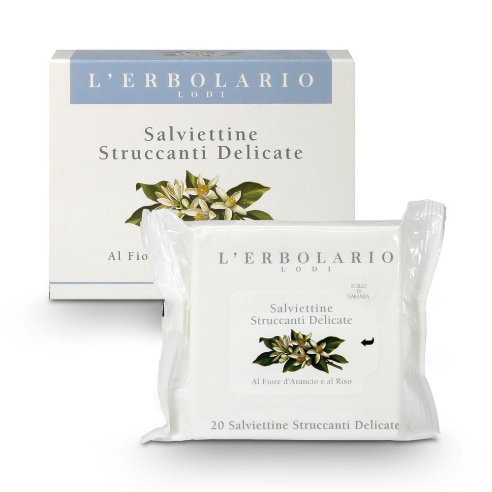 L'Erbolario Salviettine Struccanti Delicate