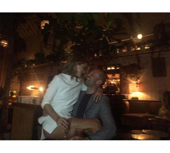 Jason Statham e la modella Rosie Huntington-Whiteley, insieme dal 2010.