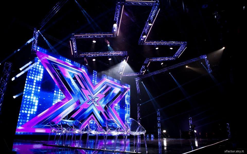 Il nuovo palco del talent show di Sky