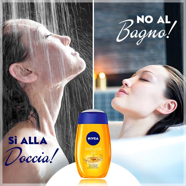 Per mantenere l'abbronzatura più  lungo è meglio scegliere la doccia rispetto al bagno!