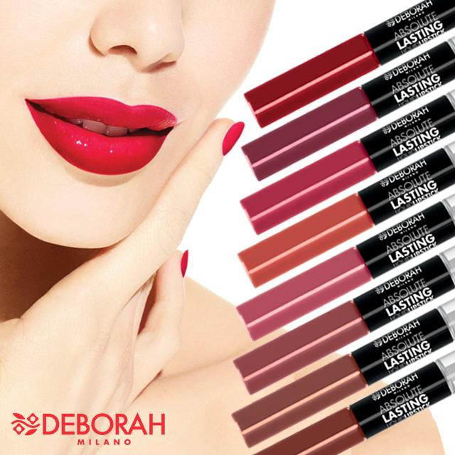 Deborah Milano Absolute lasting liquid lipstick.