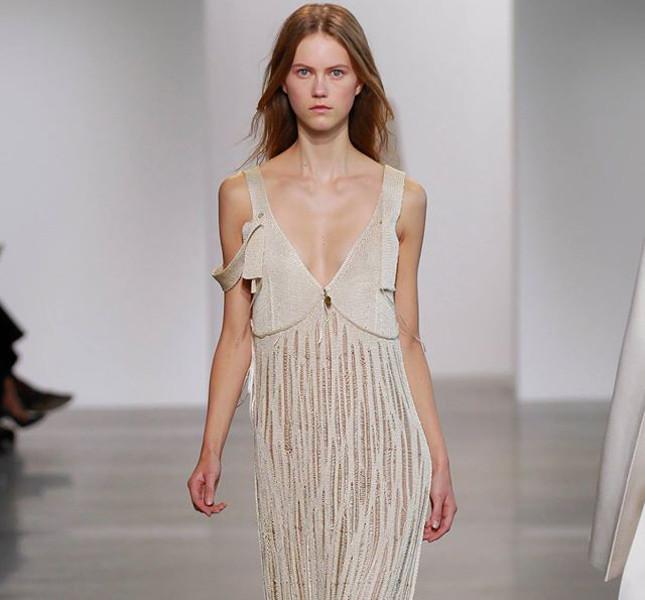 Calvin Klein abito con doppie spalline
