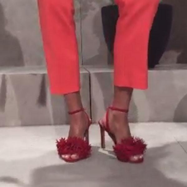 I bellissimi sandali con frange della collezione Banana Republic SS 2016