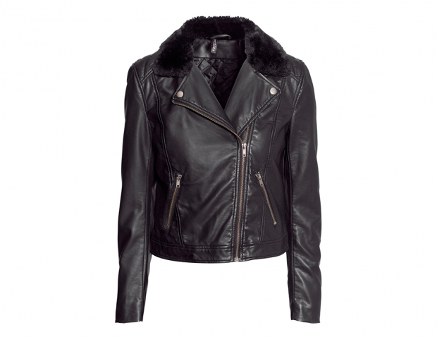 Giacca pelle H&M (39,95 euro)