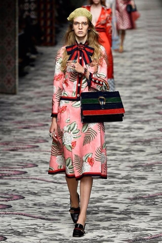E' libertà e meraviglia la collezione Gucci SS 2016