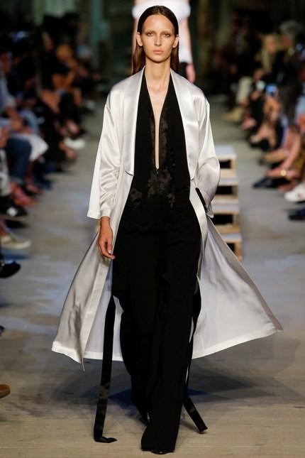 Givenchy jumpsuit nero con maxi scollo