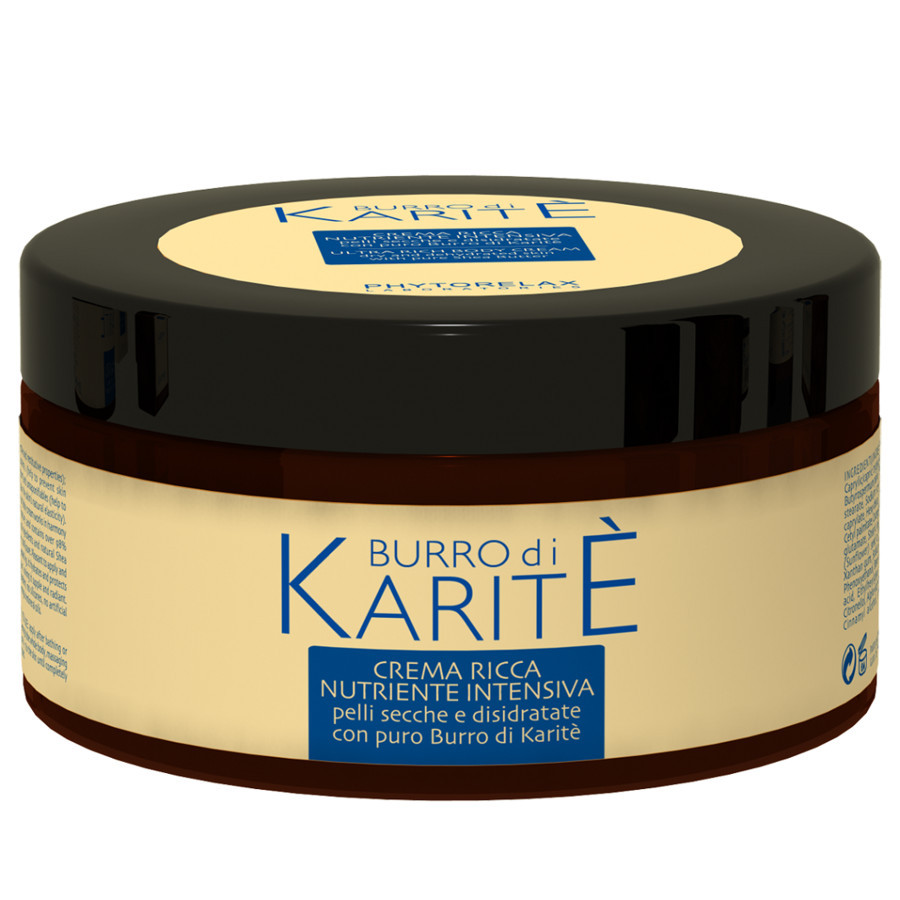 Crema Ricca Nutriente Intensiva Burro di Karitè di Phytorelax