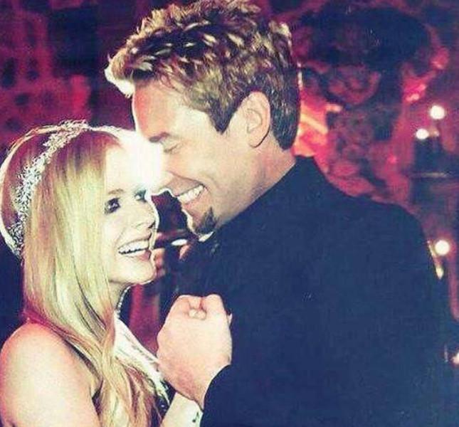 Avril Lavigne e l'ex marito Chad Kroeger