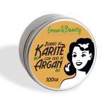 Green&Beauty Burro di Karitè Bio con Olio di Argan Bio