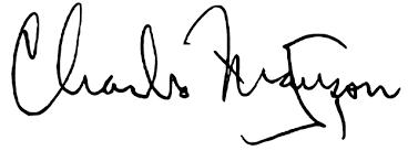 Firma di Charles Manson