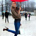 Come abbinare gli ankle boots? Con Jeans skinny come Karlie Kloss