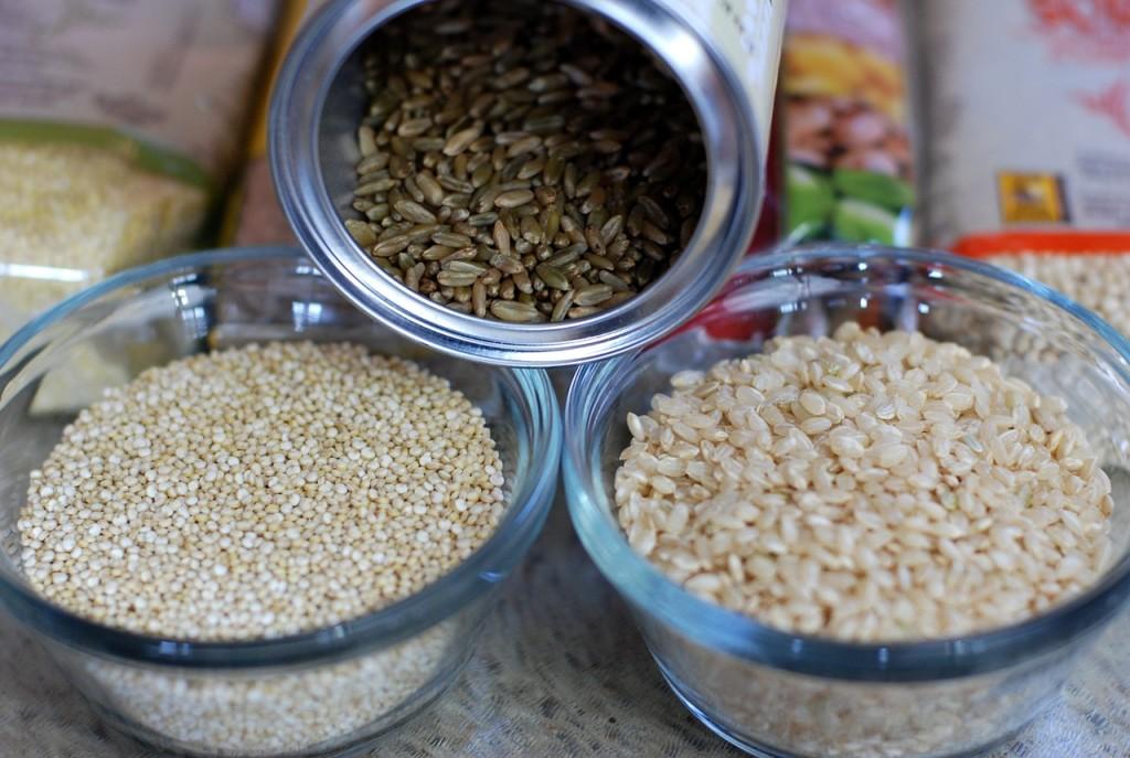 Privilegia cereali integrali a quelli raffinati