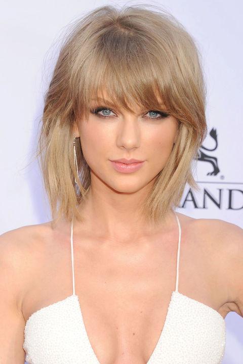 Frangia e bob per Taylor Swift