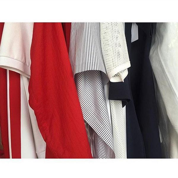 I colori primari scelti da Felipe Oliveira Baptista per la collezione Lacoste SS 2016