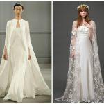 Matrimonio d'autunno Soprabito sposa