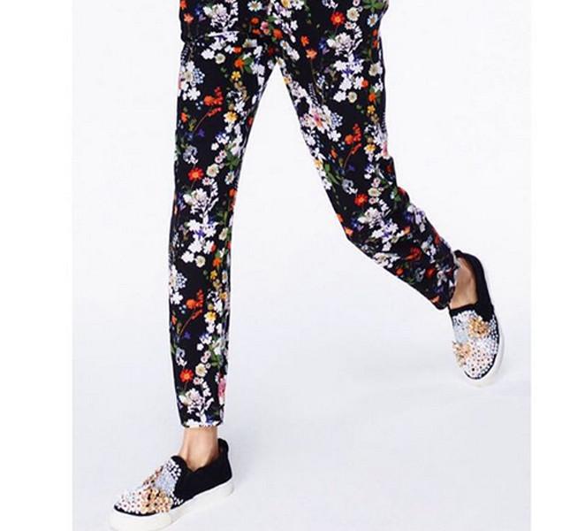 Markus Lupfer pantaloni con fiori