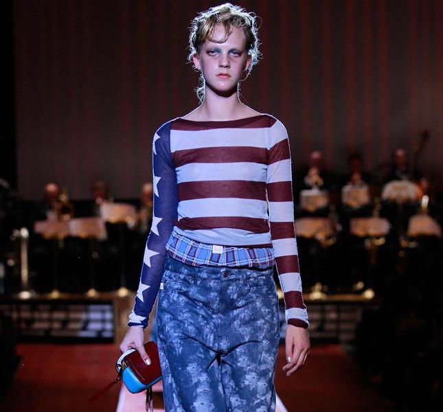 Marc Jacobs maglia a righe e decoro a stella