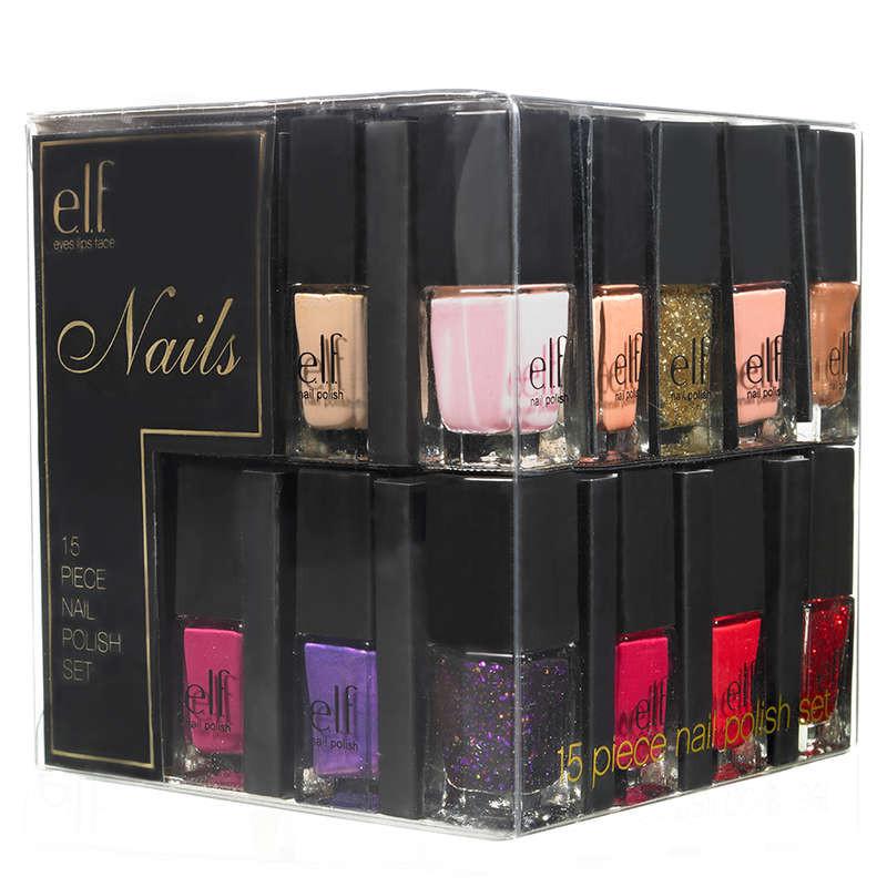 ELF_ Kit nail art con 15 smalti colorati