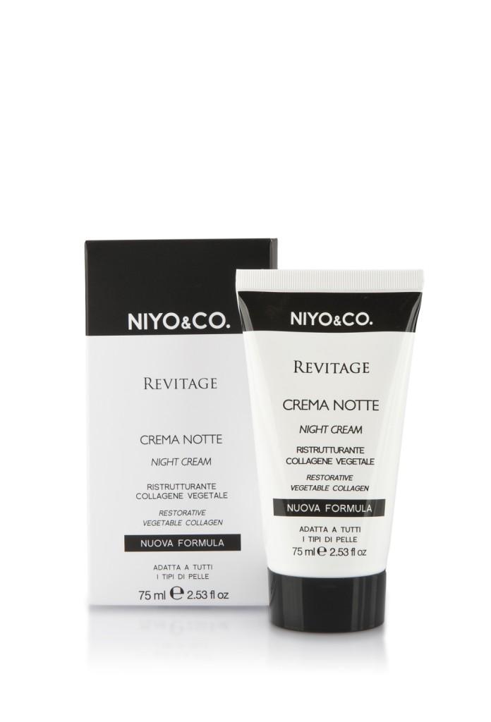NIYO&CO. Crema notte Revitage Ristrutturante. 75 ml, euro 12,90