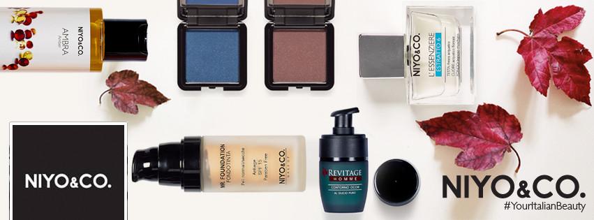 NIYO&CO. presenta tutte le novità di skincare e make-up per l'Autunno/Inverno 2015-2016.