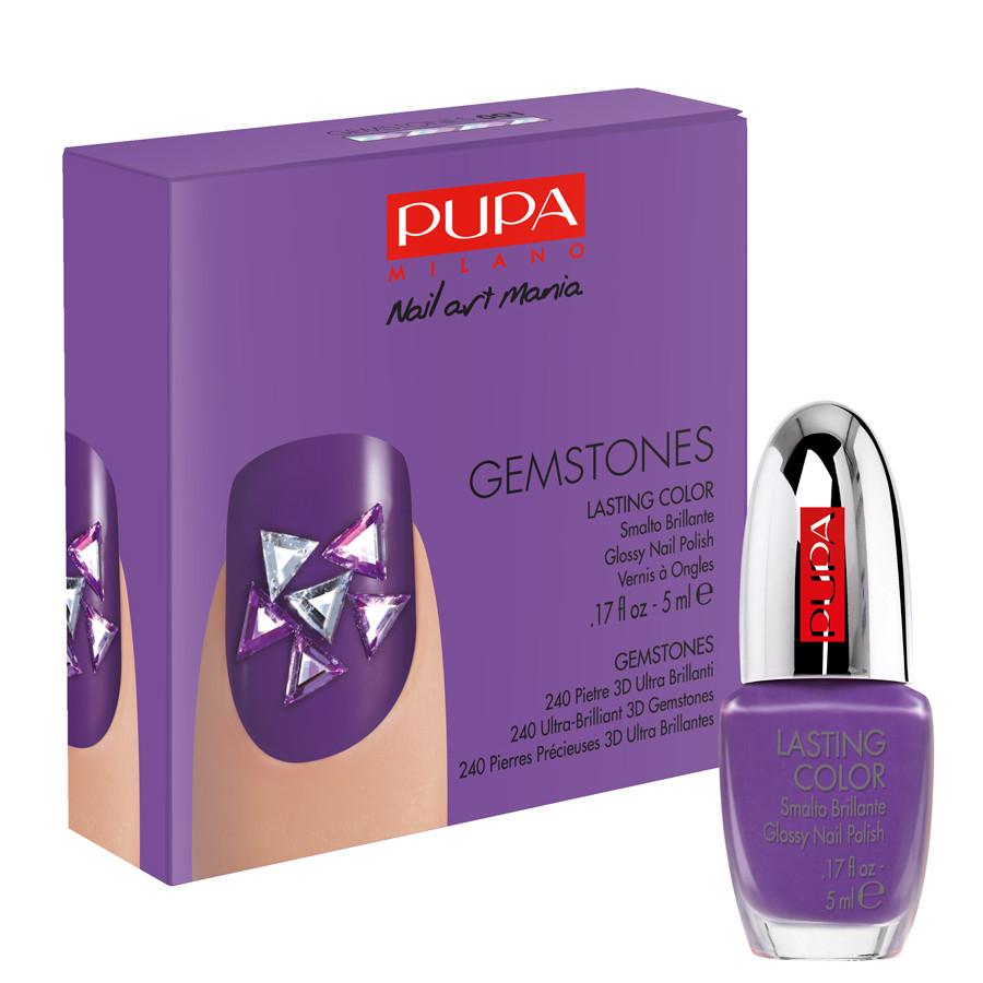 Pupa_ Kit Nail Art Gemstones disponibile in diverse colorazioni