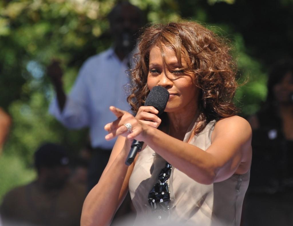 Whitney Houston nel 2009.