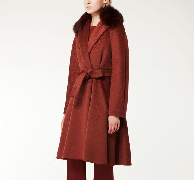 Max Mara, cappotto in alpaca