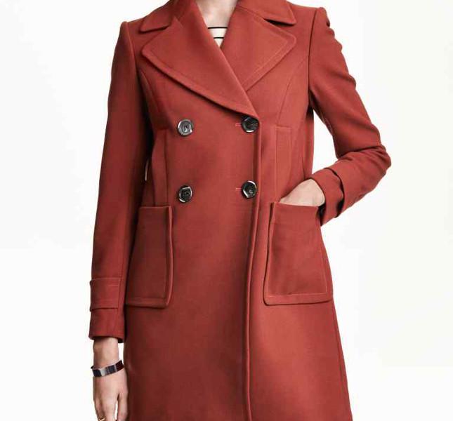 H&M, cappotto doppiopetto
