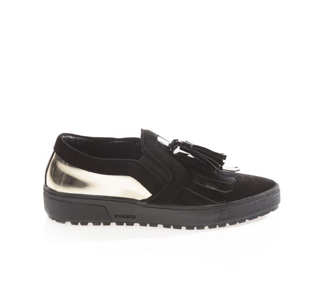 Pinko sneakers modello Coperto con nappina