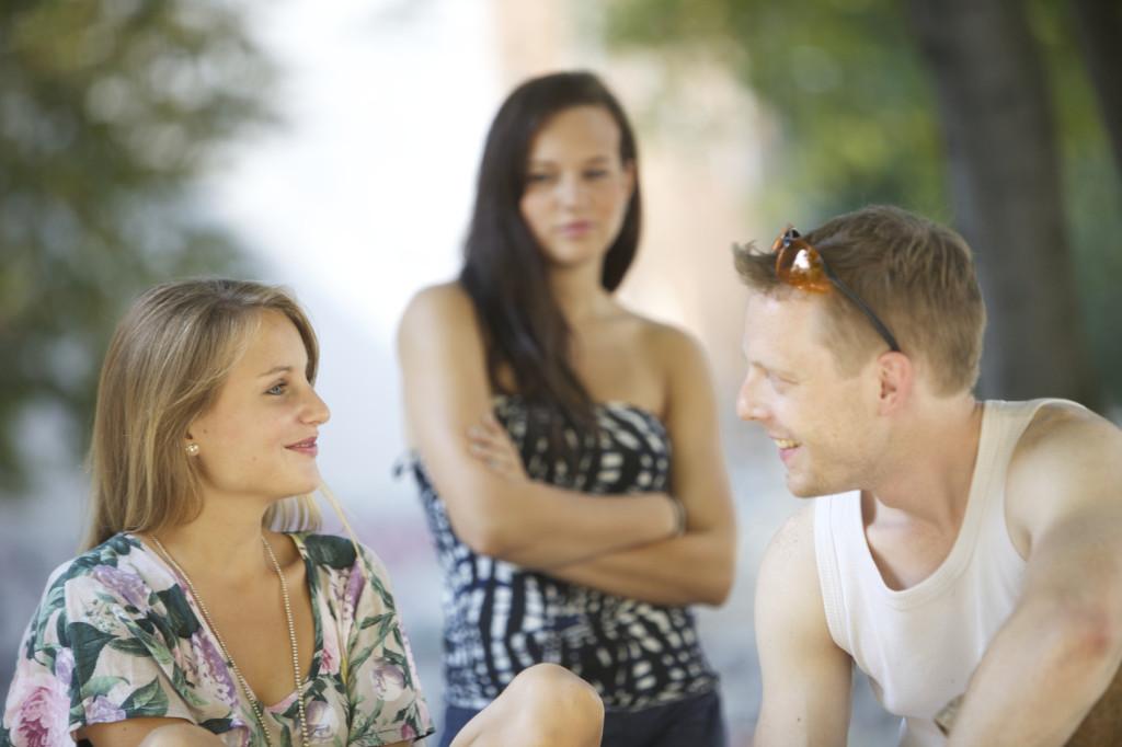 La gelosia nei confronti delle ex deriva spesso da una questione di insicurezza.