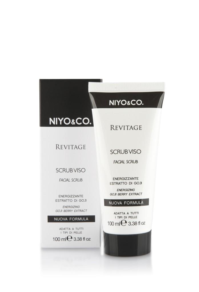 NIYO&CO. Scrub Revitage Energizzante. 100 ml, euro 7,90