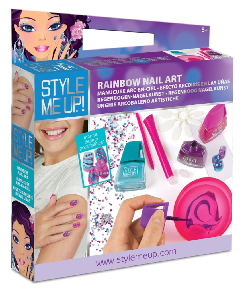 Style Me Up_kit completo con i principali accessori per creare nail art