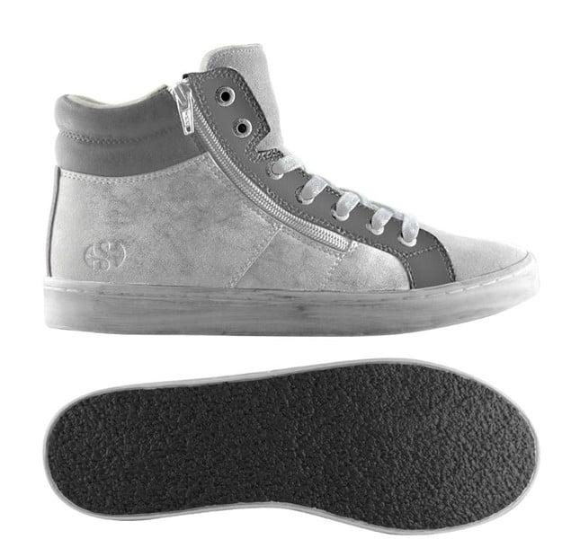 Superga sneakers alte grigie