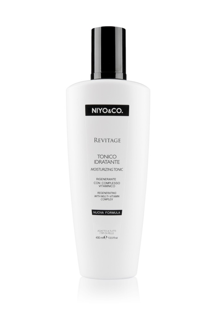 NIYO&CO. Tonico Revitage Idratante e Rigenerante. 400 ml, euro 7,90