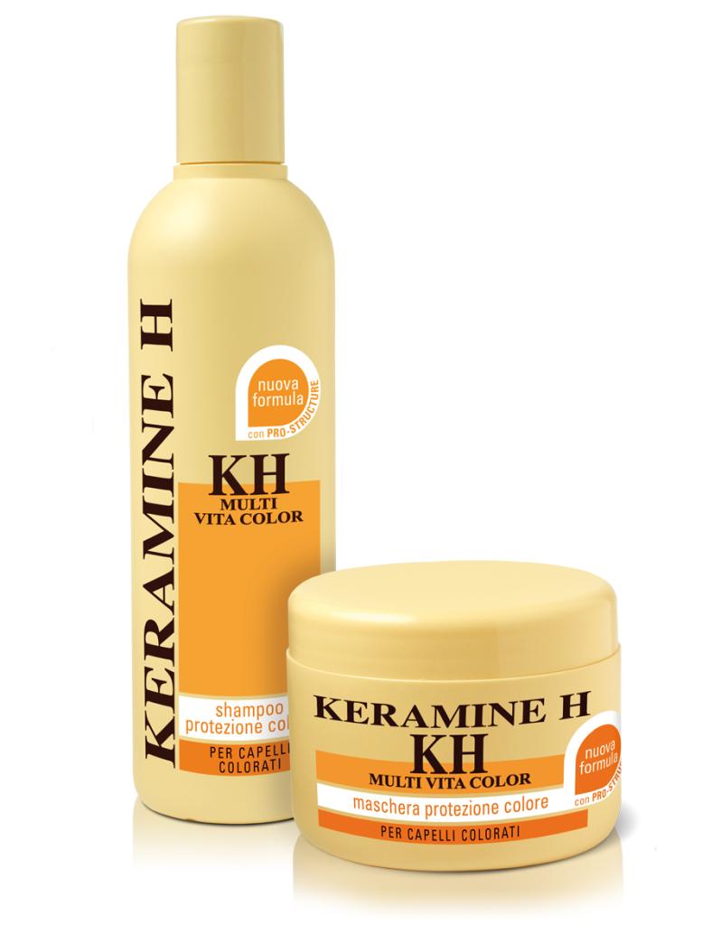 Multi Vita Color Shampoo e Balsamo Keramine H