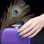 Esempio di nail art con decorazione acrilica di Estrosa