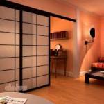 Ante porte e pareti scorrevoli- Shoji- Cinius
