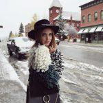 Cappello winter style @chiaraferragni