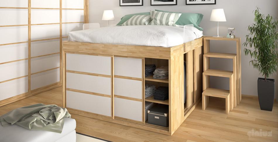 Il letto con soppalco soluzione salvaspazio unadonna - Letto a soppalco usato ...