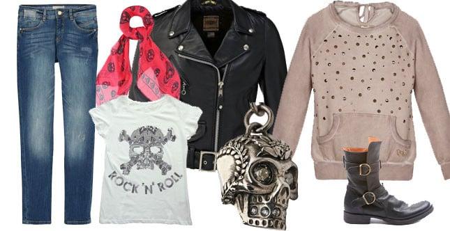 Lo stile biker è ribelle e non convenzionale ed è caratterizzato da una serie di capi simbolo, tra cui la leather jacket.