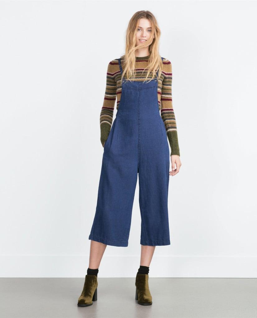 Zara salopette in jeans