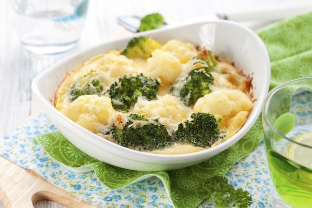 Broccoli E Cavolfiori Al Gratin Unadonna