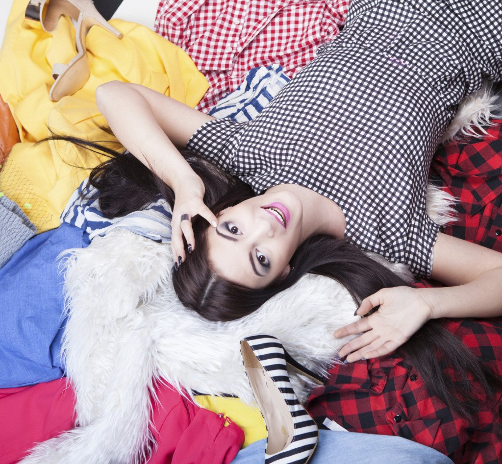 Irrinunciabili amanti dello shopping, niente paura: con l'armadio troverete posto per ognuno dei vostri vestiti.