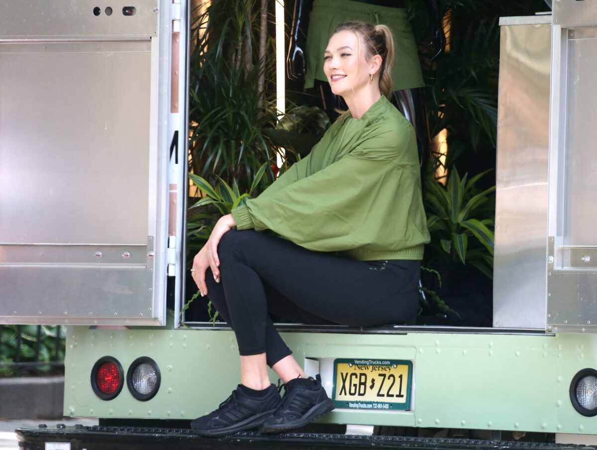 outfit di Karlie Kloss