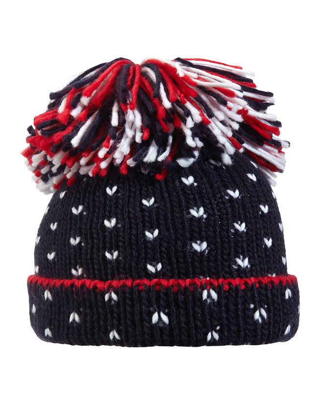 Cappello tricot bimba con pon pon - Prenatal