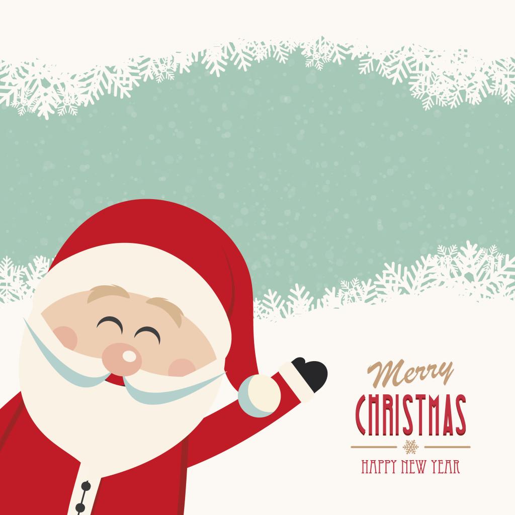 Le foto di Babbo Natale per i tuoi biglietti di auguri