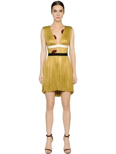 fae6d4f1db1e ... Maria Lucia Hohan cocktail dress con bocche in lurex ...