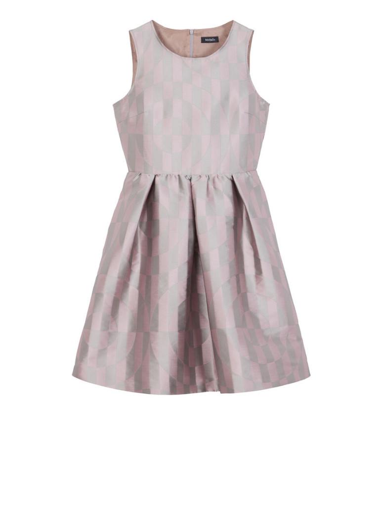 Max and Co. Corolla Dress in tessuto jacquard a disegno geometrico dallo stile easy (179 euro)