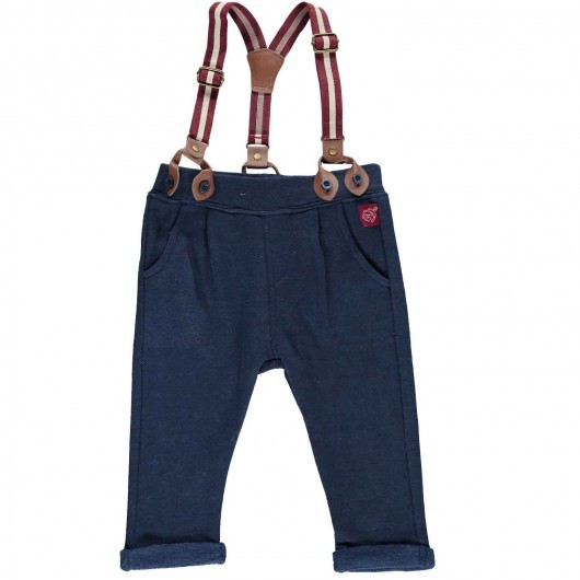 Pantaloni con bretelle - Dpam
